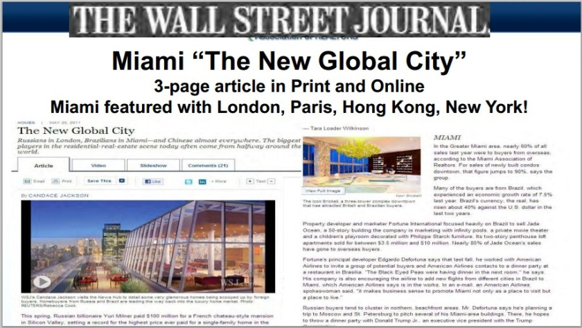 Miami a New Global City