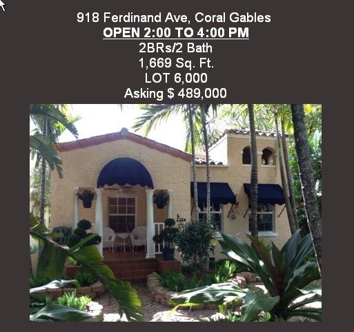 Charming Gables Home For Sale