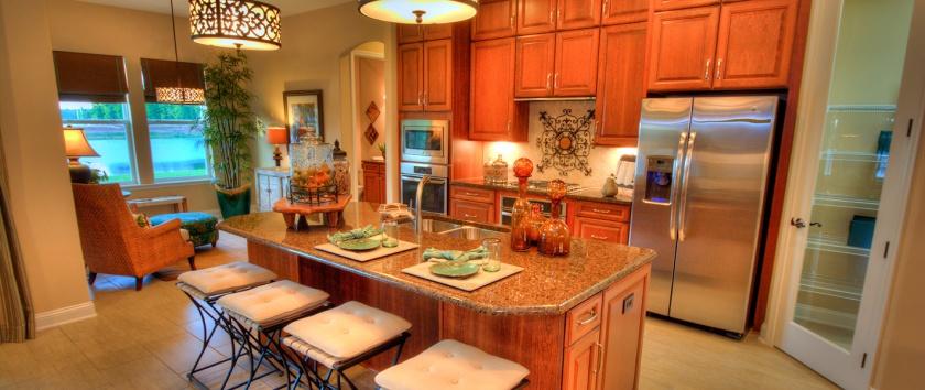 Egret IV Kitchen at Tamaya-large